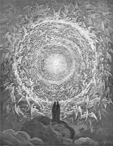 Dante Alighieri, Gustave Dore, Paradiso, Divina commedia