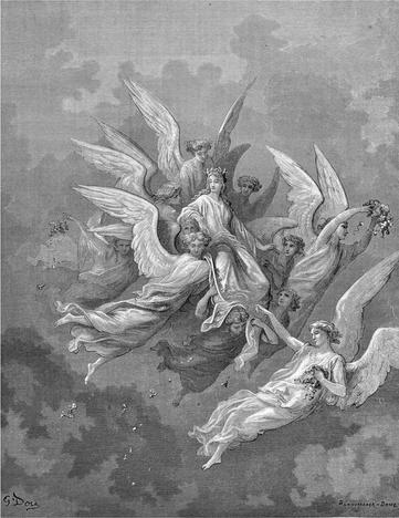 Dante Alighieri, Gustave Dore, Purgatorio, Divina commedia